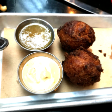 hush puppies at blue smoke