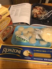 scallop linguine_ingredients